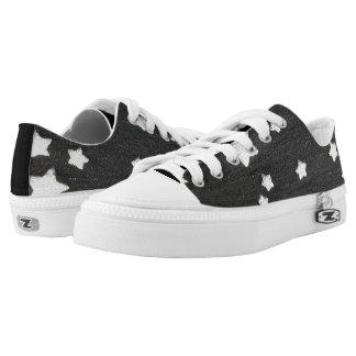 Denim Stars Low-Top Sneakers