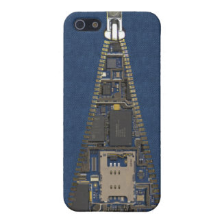Denim Texture with Opened Zipper Case For iPhone 5/5S