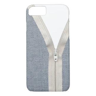 Denim unzipped iPhone 7 case
