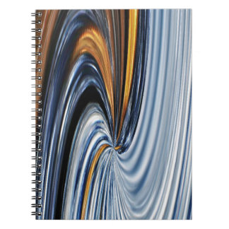 Denim Zipper Graphic Design Notebook