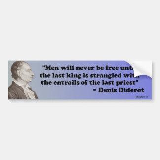 Denis Diderot Bumper Sticker