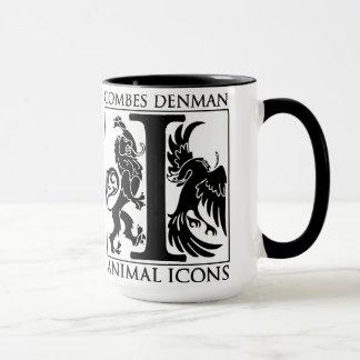 """Denman & Combes """"Animal Icons"""" Large Mug"""