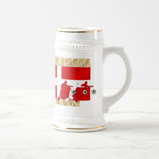 Denmark 32 country flag Africa 2010 gifts Beer Stein