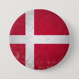 Denmark 3 Inch Round Button
