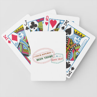 Denmark Been There Done That Bicycle Playing Cards