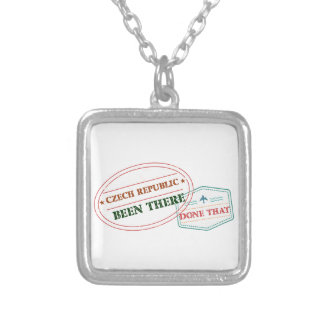 Denmark Been There Done That Silver Plated Necklace