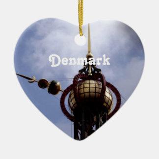 Denmark Ceramic Heart Ornament