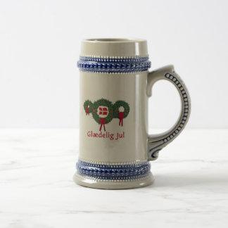 Denmark Christmas 2 Beer Stein