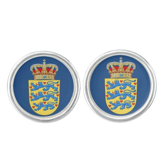 Denmark* Coat of Arms Cufflinks