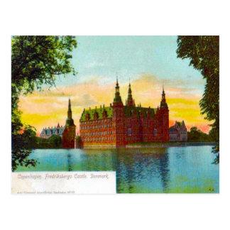 Denmark, Copenhagen Friedfricsberg Castle 1912 Postcard