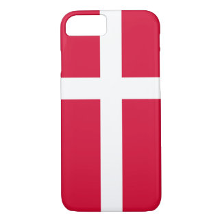 Denmark country flag symbol long iPhone 8/7 case