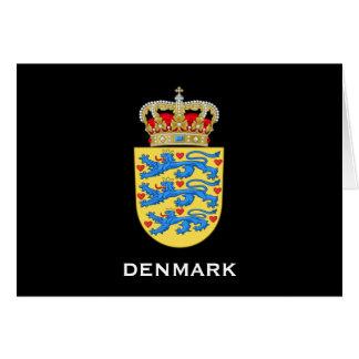 Denmark Crest Greeting Card