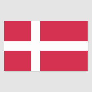 Denmark/Danish/Dane Flag Sticker