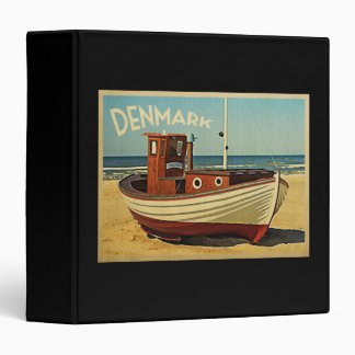 Denmark Fishing Boat Vinyl Binder
