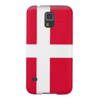 Denmark Flag Galaxy S5 Cases