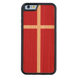 Denmark Flag Cherry iPhone 6 Bumper Case