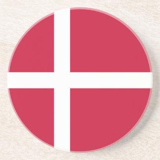 Denmark Flag Coasters