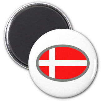 Denmark Flag Cool Design! Magnet