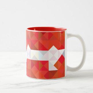 Denmark Flag, danish Colors Mug