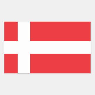 DENMARK FLAG DANNEBROG STICKER