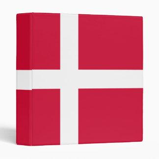 Denmark Flag Design Binder