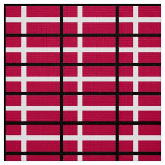 Denmark Flag Fabric