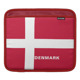 Denmark Flag iPad Sleeves