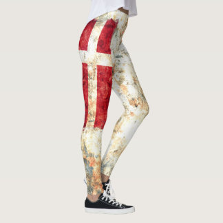 Denmark Flag Leggings
