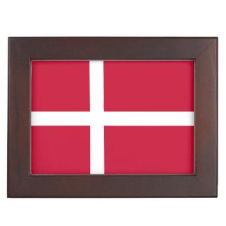 Denmark Flag Memory Box