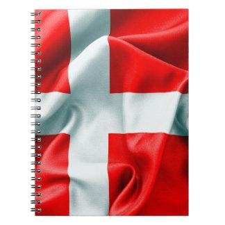 Denmark Flag Notebook