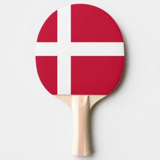 Denmark Flag Ping Pong Paddle