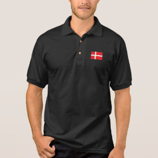 Denmark Flag Polo Shirt