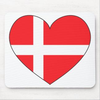 Denmark Flag Simple Mouse Pad