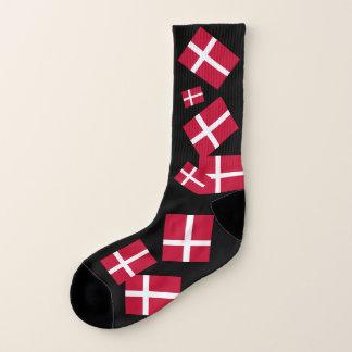 Denmark Flag Socks for All 1