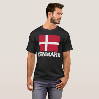 Denmark Flag T-shirt for Men and Women