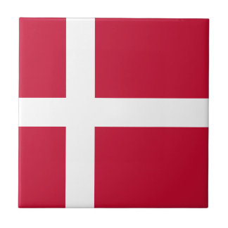 Denmark Flag Tile