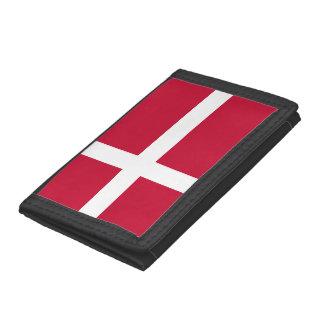 Denmark Flag Trifold Wallets
