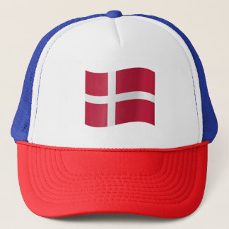 Denmark Flag Trucker Hat
