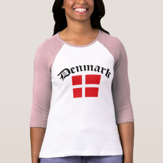 Denmark Flag w/Inscription T-Shirt