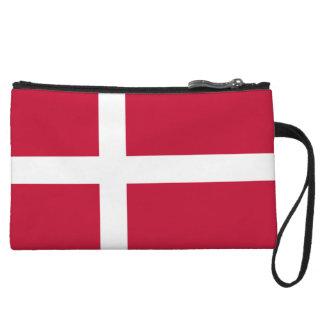 Denmark Flag Wristlets Wallet