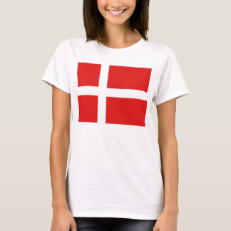 Denmark Flag x Map T-Shirt