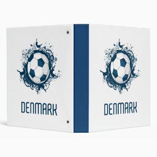 Denmark Football Vinyl Binder