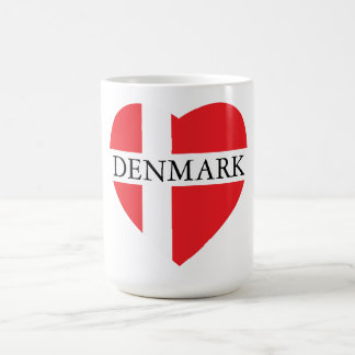 DENMARK HEART COFFEE MUG