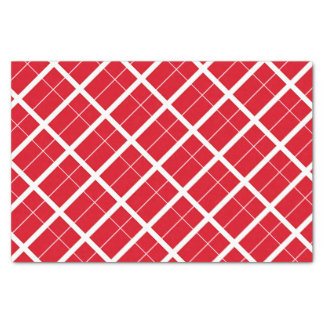 Denmark Inspired Flag Pattern Tissue Paper
