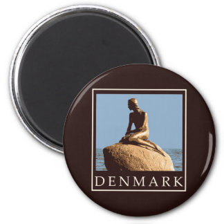 Denmark Little Mermaid Magnet