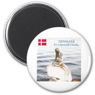 denmark 2 inch round magnet