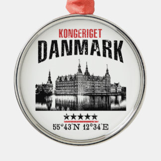 Denmark Metal Ornament