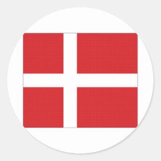 Denmark National Flag Sticker