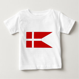 Denmark Naval Ensign Baby T-Shirt