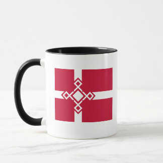 Denmark Rune Cross Mug